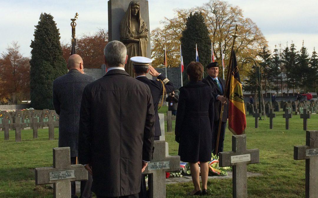 Cérémonie d'hommage aux victimes de la guerre 14-18